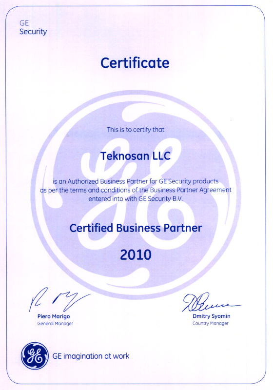 Certificate-GE-2010